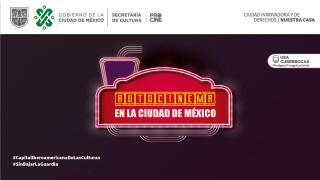 """LA SECRETARÍA DE CULTURA CAPITALINA REACTIVA """"AUTOCINEMA EN LA CIUDAD DE MÉXICO"""""""
