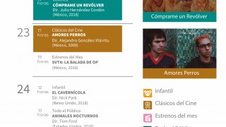 PROMUEVE SECRETARÍA DE CULTURA DE LA CIUDAD DE MÉXICO FILMES CLÁSICOS Y CONTEMPORÁNEOS EN CINE VILLA OLÍMPICA Y OTROS RECINTOS